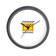 Cute Edinburgh Wall Clock