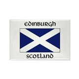 Cute Scotland map Rectangle Magnet