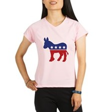 Democrat Donkey Performance Dry T-Shirt