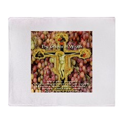 The Grapes of Wrath Throw Blanket