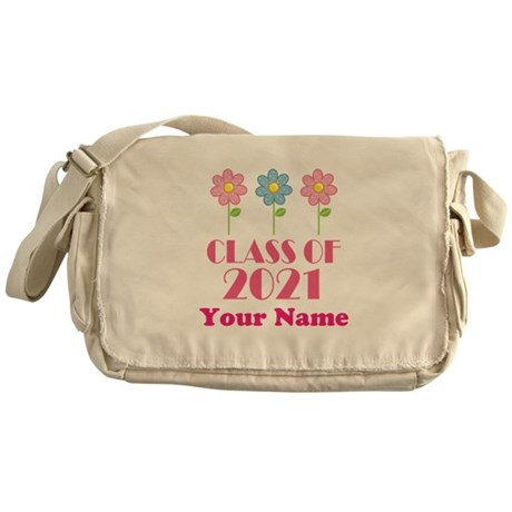 Personalized 2021 School Class Messenger Bag