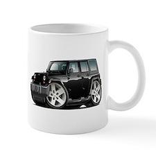 Wrangler Black Car Mug
