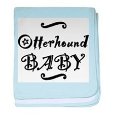 Otterhound BABY baby blanket
