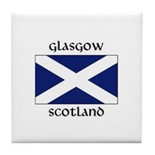 Golf scotland Tile Coaster