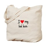 I LOVE MY Kai Ken Tote Bag