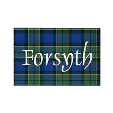 Tartan - Forsyth Rectangle Magnet