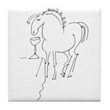 Pony Buddy Tile Coaster