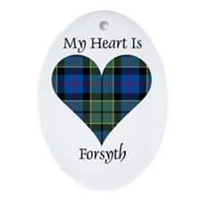 Heart - Forsyth Ornament (Oval)
