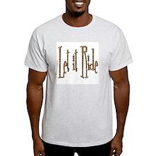 Let it Ride Retro Ash Grey T-Shirt