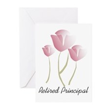 Retired Teacher IV Greeting Cards (Pk of 10)