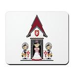 Princess & Crusader Knights Mousepad
