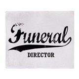 Funeral Director Throw Blanket