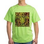 The Grapes of Wrath Steinbeck Quote Green T-Shirt