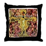 The Grapes of Wrath Steinbeck Quote Throw Pillow