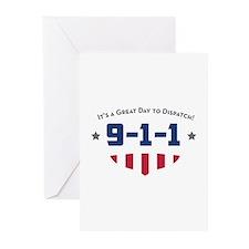 Unique 911 dispatcher Greeting Cards (Pk of 10)