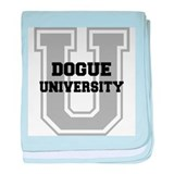 Dogue UNIVERSITY baby blanket