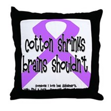 Alzheimer's - someone Throw Pillow