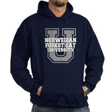 Forest Cat UNIVERSITY Hoodie