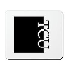 TCU Typography Mousepad