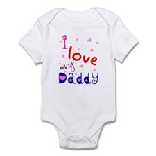 """I love my Daddy"" Personalized Infant Creeper"