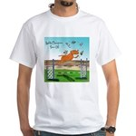 Agility Champion Show Off White T-Shirt