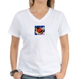 Lady Bug V-Neck T-Shirt