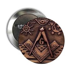 "Bronze Freemasonry 2.25"" Button (100 pack)"