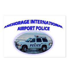 Anchorage Airport Police Postcards (Package of 8)