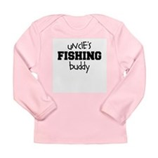 Uncle's Little Fishing Buddy Long Sleeve Infant T-
