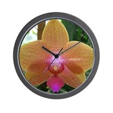 Orchid Perfection Wall Clock