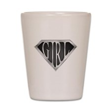 SuperGirl(Metal) Shot Glass