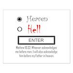 Acknowledge Heaven Small Poster