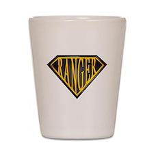 SuperRanger(blk/gld) Shot Glass