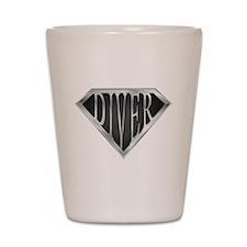 SuperDiver(metal) Shot Glass