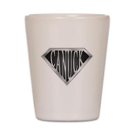 SuperCanuck(metal) Shot Glass
