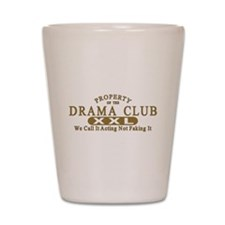 Drama Club Shot Glass