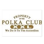 Polka Club Postcards (Package of 8)