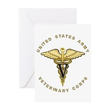 Army Veterinary Greeting Card