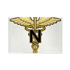 U.S. Army Nurse Rectangle Magnet
