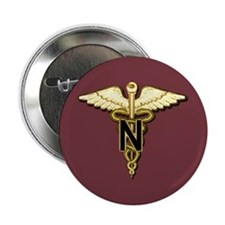 "U.S. Army Nurse 2.25"" Button (100 pack)"