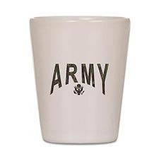 Army & Eagle Shot Glass