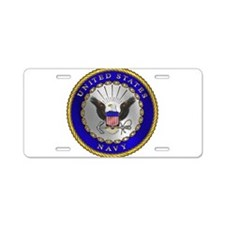 US NAVY Aluminum License Plate