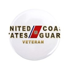 "USCG Veteran 3.5"" Button (100 pack)"