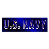 U.S. NAVY Bumper Sticker