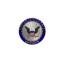 US Navy Retired Mini Button (10 pack)