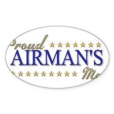 Airman's Mom Decal