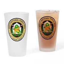 Iraq Force Drinking Glass