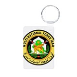 Iraq Force Aluminum Photo Keychain