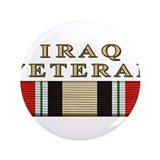 "Iraq Vet 3.5"" Button"
