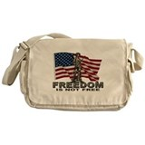 FREEDOM NOT FREE Messenger Bag
